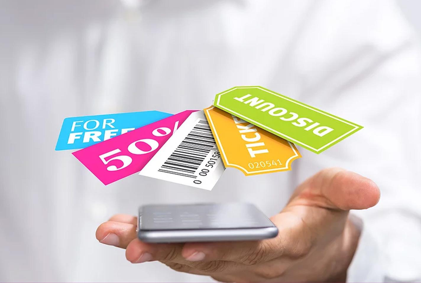 digital coupons phone